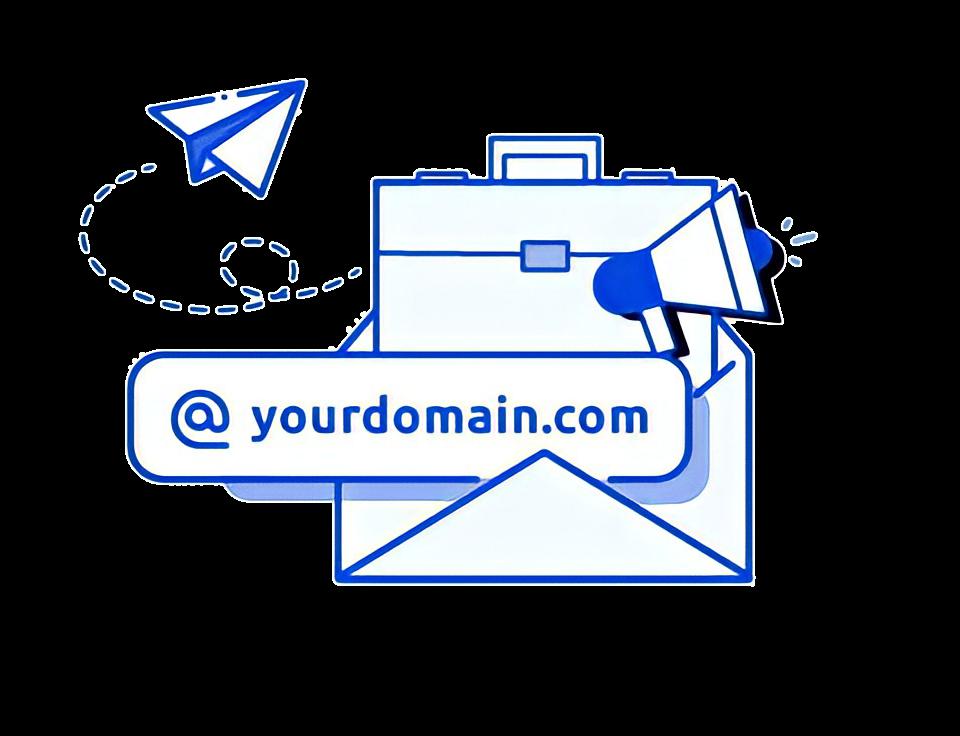 عنوان بريد إلكتروني مخصص